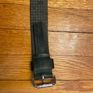 Liebeskind Accessories - Forest green leather belt